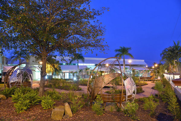 """The Healing Garden"" 2012  Bundaberg Hospital, QLD"