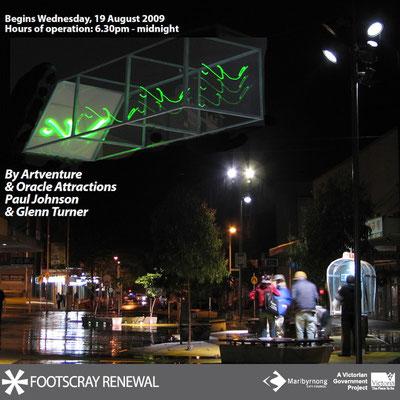 """""""Night Drawing"""" 2009 Footscray, VIC"""