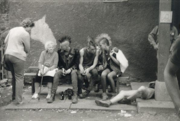 """""""Jugend 86"""" Punktreffen in Rudolstadt, Foto: Geralf Pochop"""