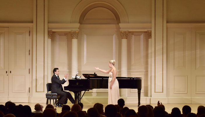 Opera Gala, Carnegie Hall, New York City 2017