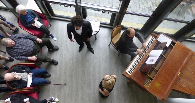 Concert MOS, partenaire France Alzheimer, Rueil Malmaison, 2015