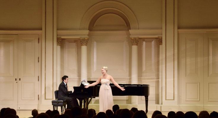 Opera Gala, Carnegie Hall, New York City 2017