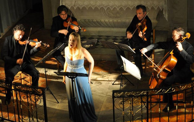 Récital Mozart avec le Quatuor Hermarque, Festival de Musique des Chapelles, 2014
