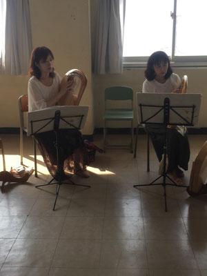 七里ヶ浜高校県民講座「癒しの竪琴~ライアーの魅力」