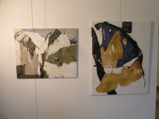 Arbeiten von Inge Mauthe