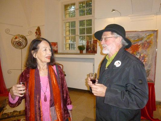 Uraula Lachner und Gerhard Weiss im Gespräch