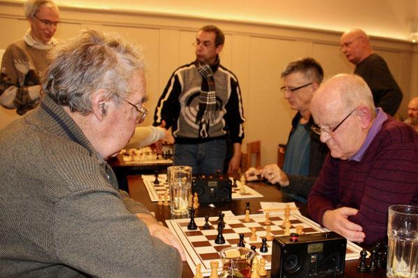 Emil Müller, Willi Hasler, im Hintergrund: Bruno Zülle, Markus Meienhofer, Thomas Wunderlin, Hans Bol