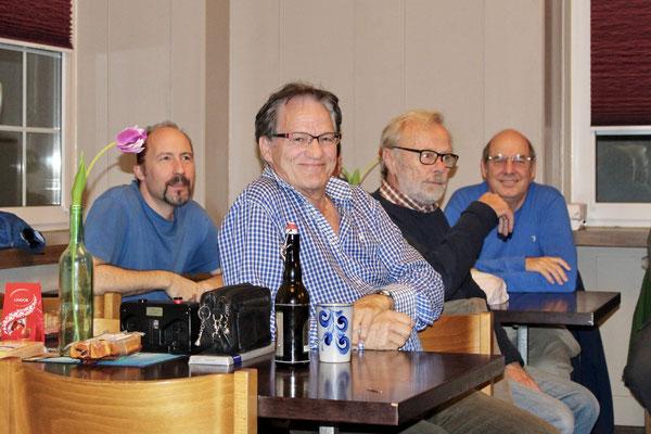 (vlnr) Romolo Taraborrelli, Alois Engeler, Richrd Brauchli, Richard Fischer
