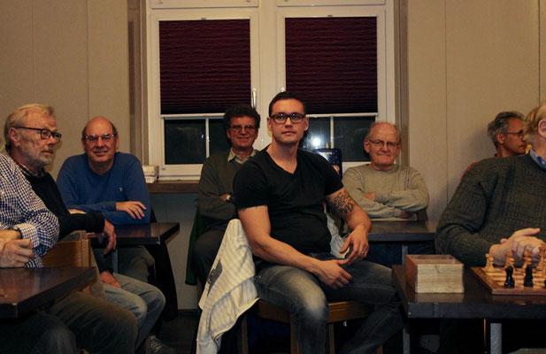 (vlnr) Richard Brauchli, Richard Fischer, Ruedi Plüss, Peter Kukucka, Willi Hasler, Reto Egger
