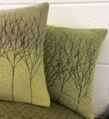 Homeware PR - Stitched Tree design cushions