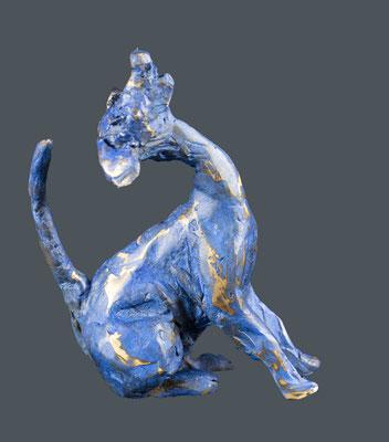 """Bronze """"chien 1964-4"""" • 11x9cm"""