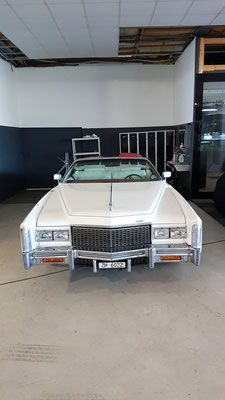 Cadillac in Autohotel Schongau