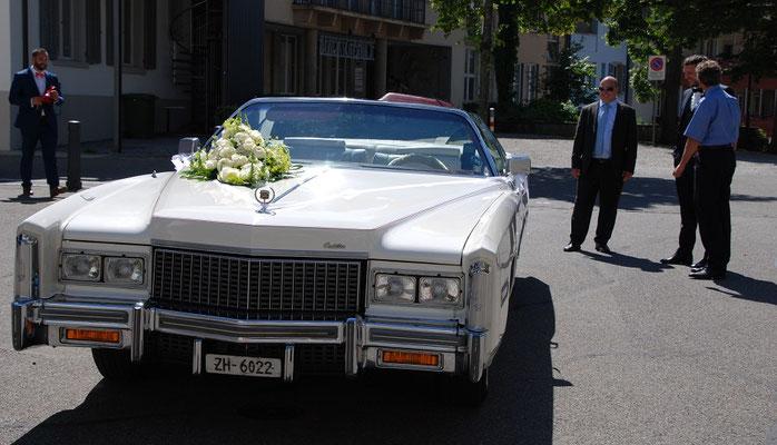 Hochzeitsfahrt ab Lenzburg