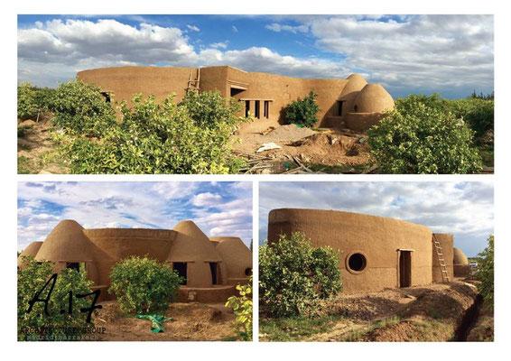 Maison construite par A17 - Maroc