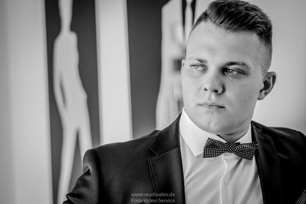 Der starke Bräutigam Armin aus Deggendorf