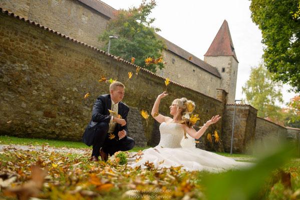 Hochzeit im Herbst Amberg Oberpfalz