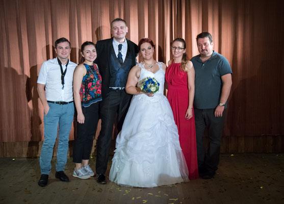 Hochzeitsfotos mit Musikband Nigth & Tamada Hochzeit in Amberg
