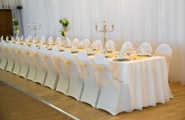 """Hochzeitsdekoration Fotos im Eventlocation """"Stella"""""""