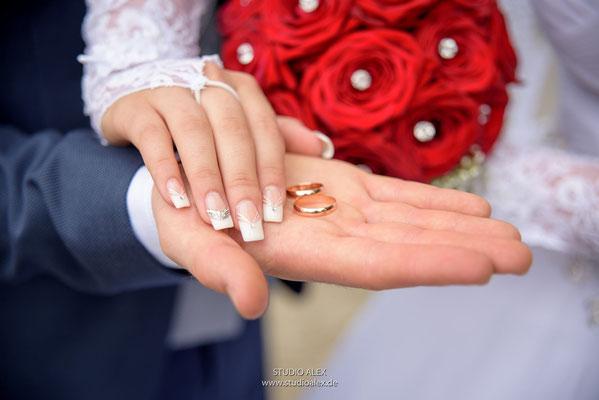 Die besten Hochzeitsfotos ins Hochzeitsfotobuch