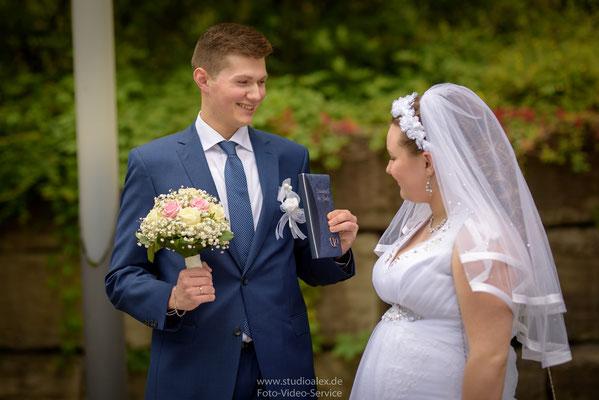 Ideen für Hochzeitsfotos Spitalkirche Schwandorf