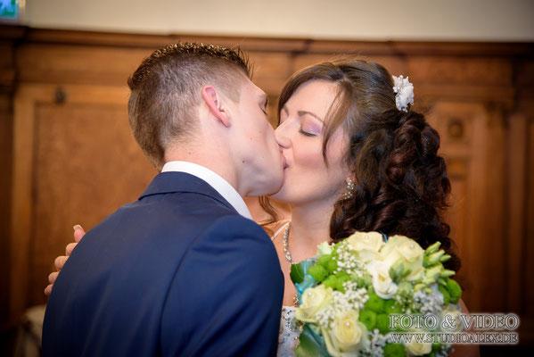 Kuss im Rathaus Amberg