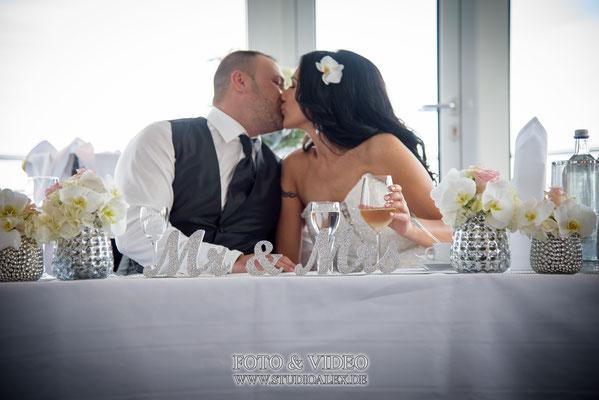 Hochzeitsdeko von Alluredecodesign