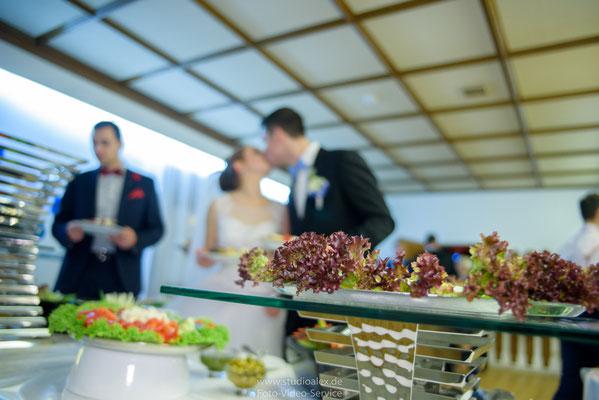 Guten Appetit auf der Hochzeit in Frauendorf