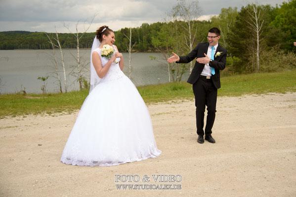 lustiges Hochzeitsfoto Regensburg