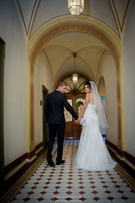 Ideen für Hochzeitsfotos im Rathaus Fürth