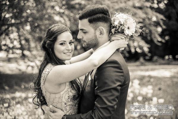 Hochzeitsfotos von der türkischen Hochzeit