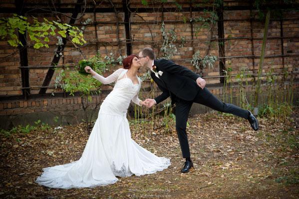 Ideen für lustige Hochzeitsbilder in Nürnberg