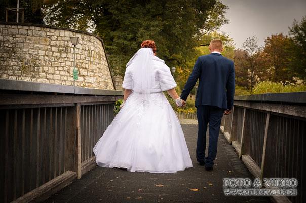 Hochzeitsideen für Fotos im Herbst