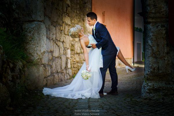 Ideen für außergewöhnliche Hochzeitsfotos im Laaber