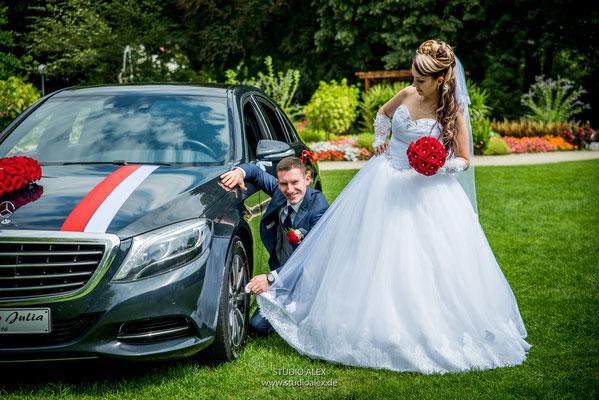 Lustige Hochzeitsreportage mit dem Hochzeitsfotograf von Weiden in der Oberpfalz