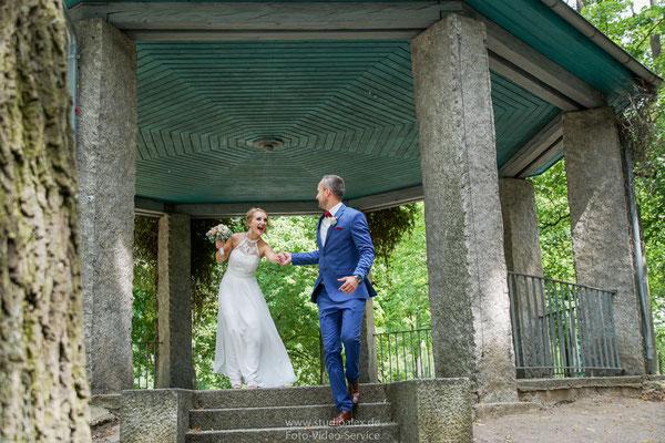 Hochzeitsfotos Englischer Garten Amberg, Fotografie Amberg Hochzeit,