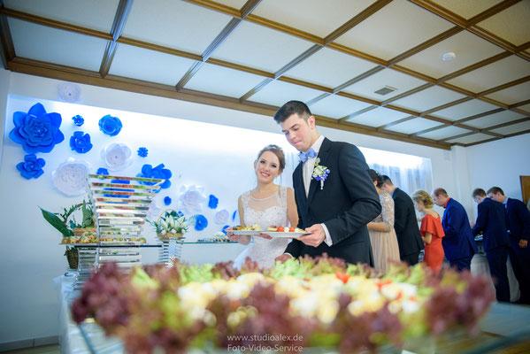 Hochzeitsessen in Frauendorf