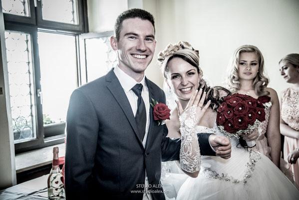 Hochzeitsfotografie im Rathaus Weiden in der Oberpfalz