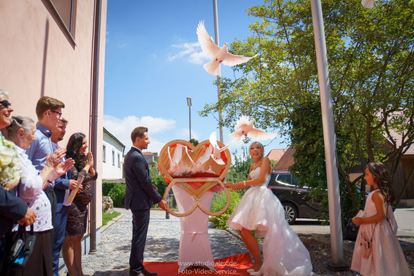 Hochzeitsfotograf für standesamtliche Trauung in Laaber