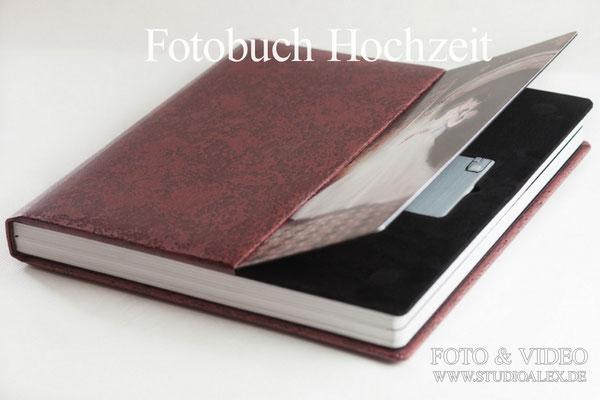 Hochzeit Fotobuch mit USB-Stick
