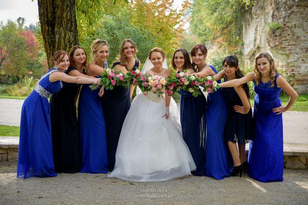 Gruppenfoto Hochzeit Ingolstdt