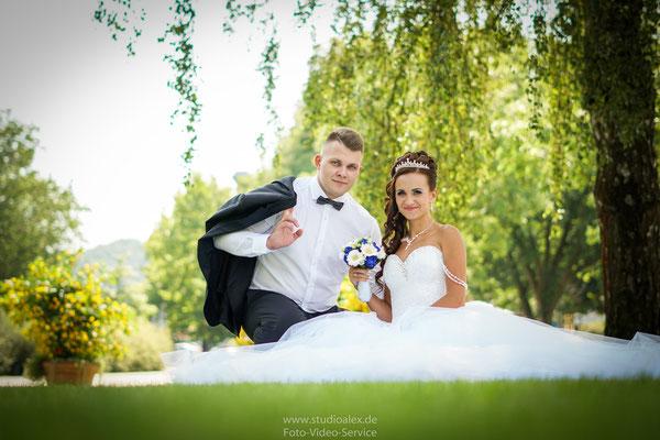 Hochzeitsfotos in Deggendorf von Christina & Armin