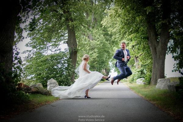 Witzige Hochzeitsfotos in Cham Oberpfalz Bayern
