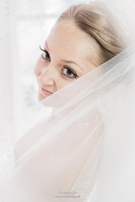 Hochzeitsreportage Braut Ingolstadt