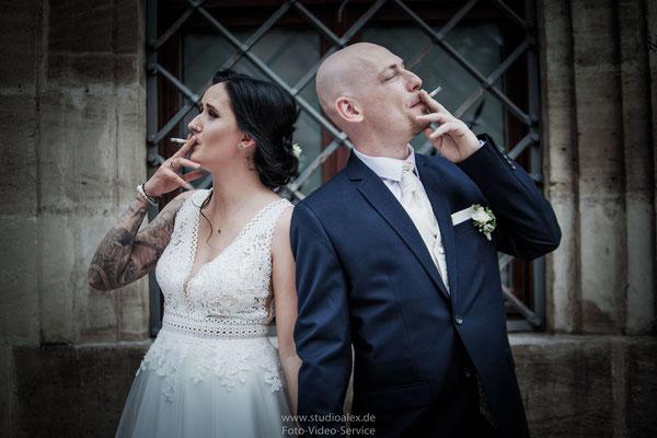 Kreative Hochzeitsfotos Nürnberg