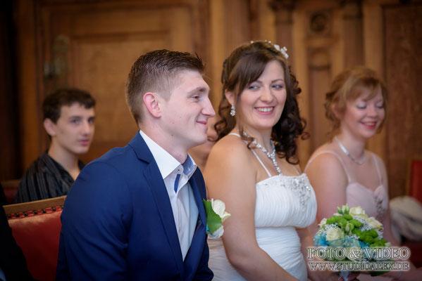 Hochzeitsbilder standesamtliche Trauung in Amberg