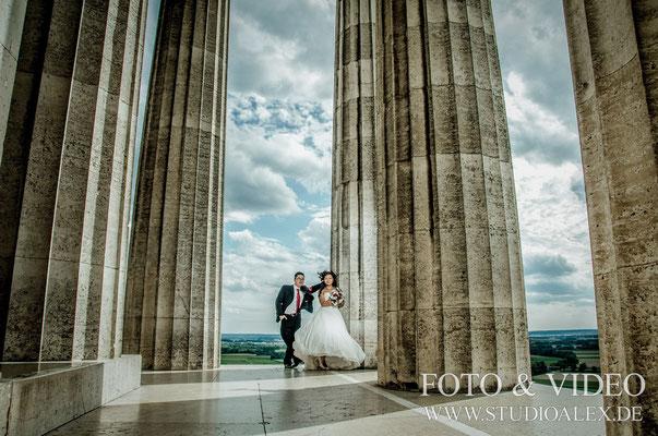 Hochzeitsfotografie Walhalla Regensburg