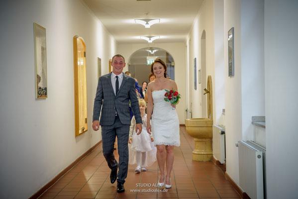 Hochzeitsfotograf für die standesamtliche Trauung in Amberg