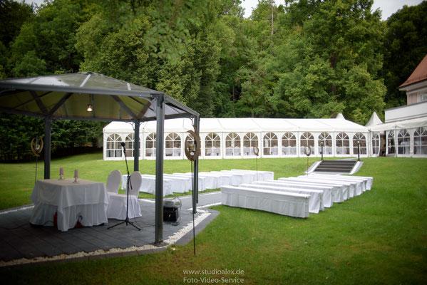 Hochzeitsfotos Dekoration FREIE TRAUUNG LANDHAUS LINDENHOF