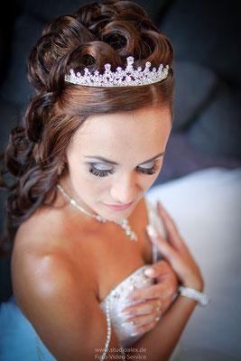 Die schöne Braut Christina aus Deggendorf