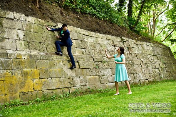 Ideen für lustige Hochzeitsbilder